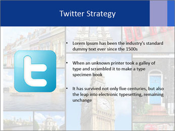 Collage from London, UK PowerPoint Templates - Slide 9