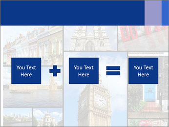 Collage from London, UK PowerPoint Templates - Slide 95