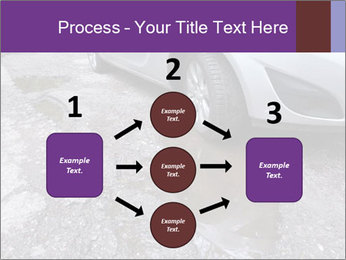 Damaged road full of cracked PowerPoint Template - Slide 92