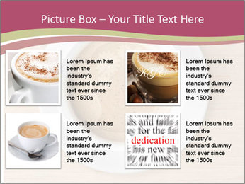 Coffee cup with brain refreshing concept PowerPoint Template - Slide 14