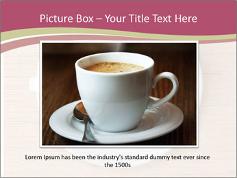 Coffee cup with brain refreshing concept PowerPoint Template - Slide 15