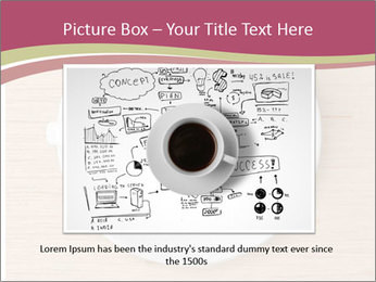 Coffee cup with brain refreshing concept PowerPoint Template - Slide 16