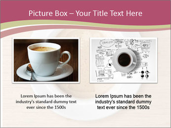 Coffee cup with brain refreshing concept PowerPoint Template - Slide 18