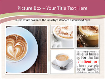 Coffee cup with brain refreshing concept PowerPoint Template - Slide 19