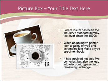 Coffee cup with brain refreshing concept PowerPoint Template - Slide 20