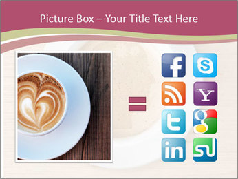 Coffee cup with brain refreshing concept PowerPoint Template - Slide 21