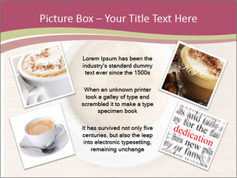 Coffee cup with brain refreshing concept PowerPoint Template - Slide 24