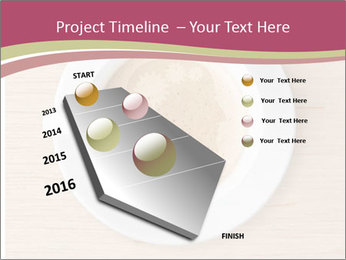 Coffee cup with brain refreshing concept PowerPoint Templates - Slide 26