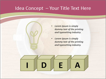 Coffee cup with brain refreshing concept PowerPoint Templates - Slide 80