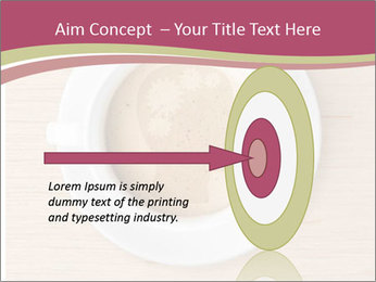 Coffee cup with brain refreshing concept PowerPoint Template - Slide 83