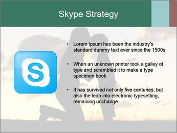 Sunset in the sky. PowerPoint Template - Slide 8