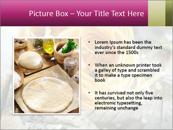 Italian linguine or tagliatelli pasta PowerPoint Templates - Slide 13