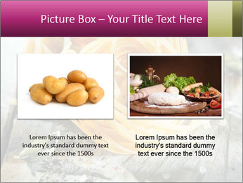 Italian linguine or tagliatelli pasta PowerPoint Templates - Slide 18