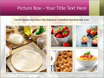 Italian linguine or tagliatelli pasta PowerPoint Templates - Slide 19