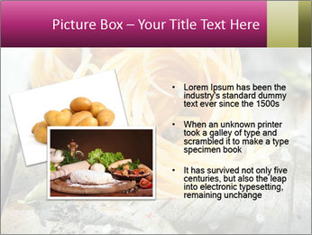 Italian linguine or tagliatelli pasta PowerPoint Templates - Slide 20