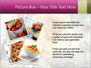 Italian linguine or tagliatelli pasta PowerPoint Templates - Slide 23