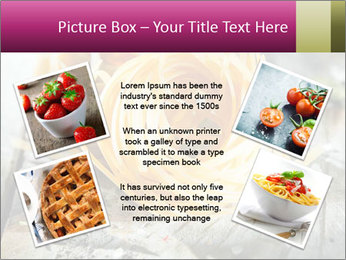 Italian linguine or tagliatelli pasta PowerPoint Templates - Slide 24