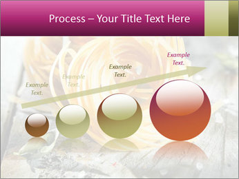 Italian linguine or tagliatelli pasta PowerPoint Templates - Slide 87