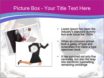 Two judokas fighters fighting men PowerPoint Template - Slide 20