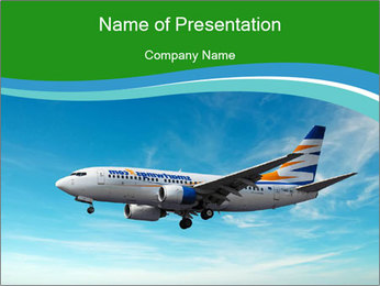 Airport PowerPoint Template - Slide 1