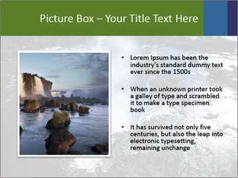 Aerial view of Devil's throat PowerPoint Template - Slide 13