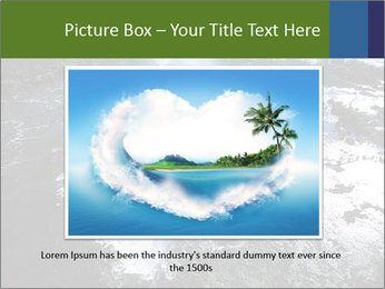 Aerial view of Devil's throat PowerPoint Templates - Slide 16