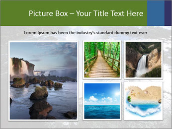 Aerial view of Devil's throat PowerPoint Templates - Slide 19