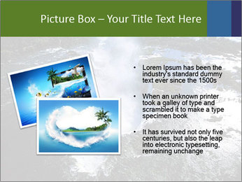 Aerial view of Devil's throat PowerPoint Templates - Slide 20