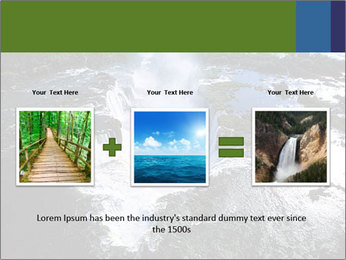 Aerial view of Devil's throat PowerPoint Template - Slide 22