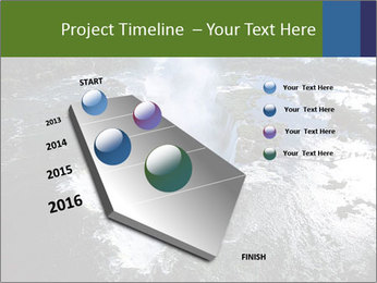 Aerial view of Devil's throat PowerPoint Template - Slide 26