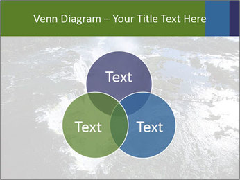 Aerial view of Devil's throat PowerPoint Templates - Slide 33
