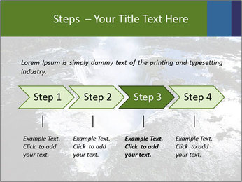 Aerial view of Devil's throat PowerPoint Template - Slide 4