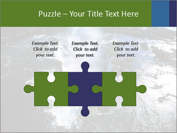 Aerial view of Devil's throat PowerPoint Template - Slide 42