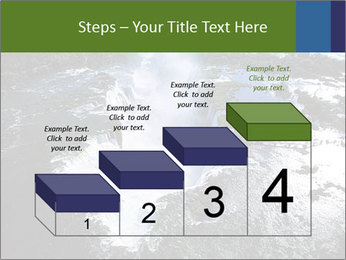 Aerial view of Devil's throat PowerPoint Template - Slide 64