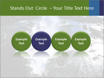 Aerial view of Devil's throat PowerPoint Template - Slide 76