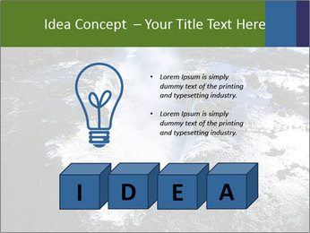 Aerial view of Devil's throat PowerPoint Templates - Slide 80