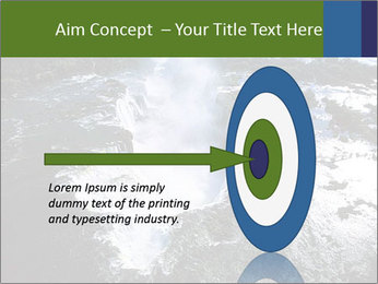 Aerial view of Devil's throat PowerPoint Template - Slide 83