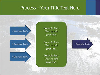 Aerial view of Devil's throat PowerPoint Templates - Slide 85