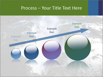 Aerial view of Devil's throat PowerPoint Template - Slide 87