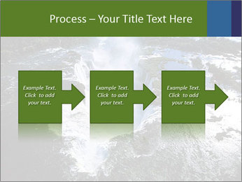 Aerial view of Devil's throat PowerPoint Template - Slide 88