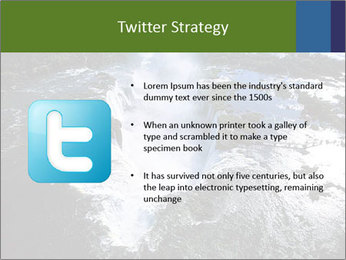 Aerial view of Devil's throat PowerPoint Template - Slide 9