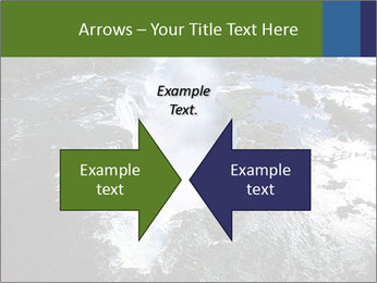 Aerial view of Devil's throat PowerPoint Templates - Slide 90