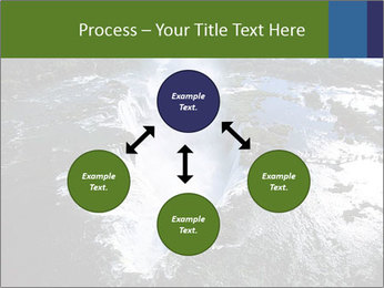 Aerial view of Devil's throat PowerPoint Template - Slide 91
