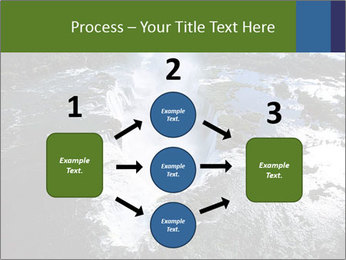 Aerial view of Devil's throat PowerPoint Template - Slide 92