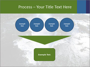 Aerial view of Devil's throat PowerPoint Template - Slide 93