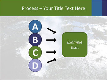 Aerial view of Devil's throat PowerPoint Templates - Slide 94