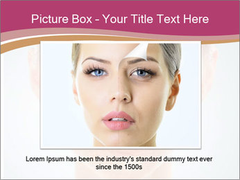 Skin after cosmetic procedure PowerPoint Template - Slide 16