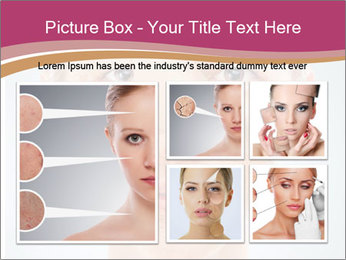 Skin after cosmetic procedure PowerPoint Template - Slide 19