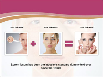 Skin after cosmetic procedure PowerPoint Template - Slide 22