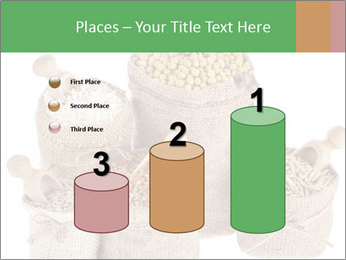 Corn kernel seed meal and grains in bags collection PowerPoint Template - Slide 65